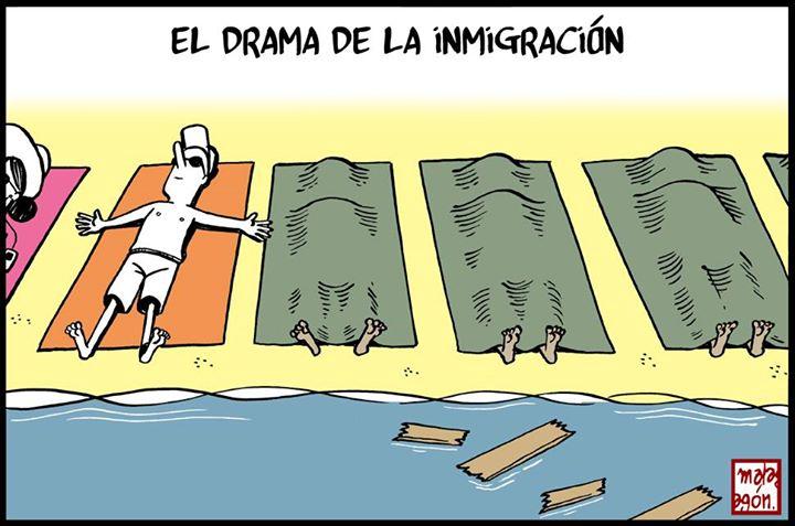 El drama de la inmigración