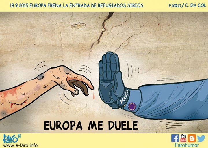 Europa frena la entrada de refugiados