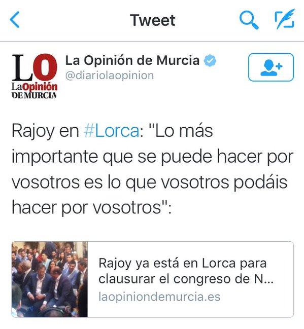 Rajoy en Lorca